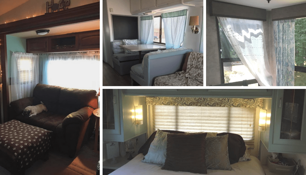 RV Window Makeover Ideas